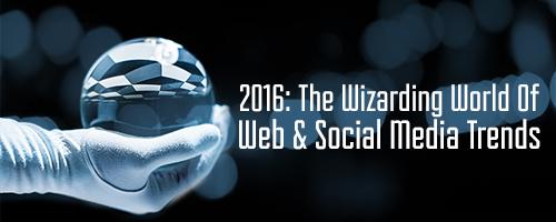2016 Web Design and Social Media Trends