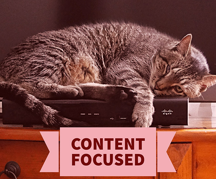 Content Focused
