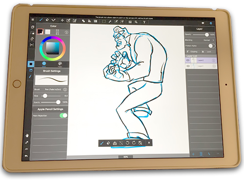 drawing app for ipad Concepts (the app) is an advanced having the ability to draw with real accuracy on the ipad using a tool like concepts has fundamentally changed my workflow.