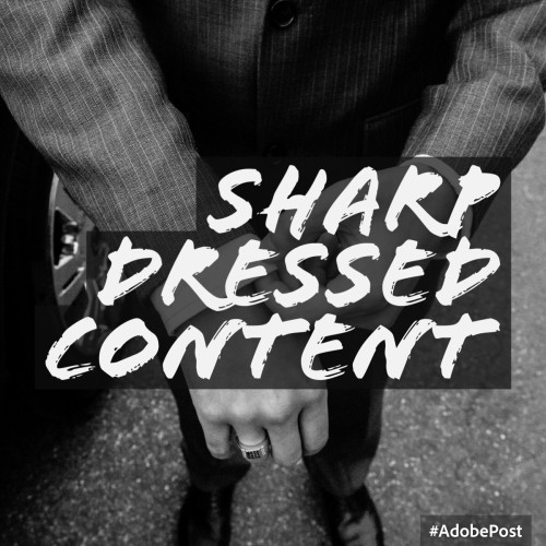 Sharp Dressed Content