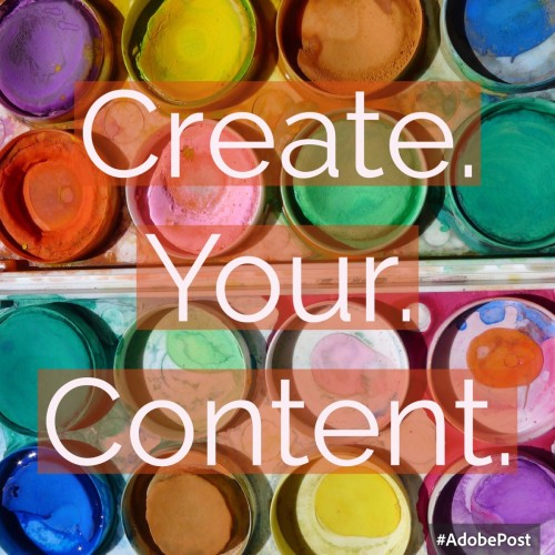 Create Awesome Content!