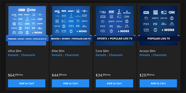 Cord Cutting With Playstation Vue