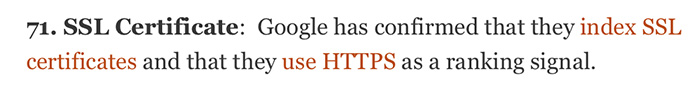 HTTPS Is A Ranking Signal For Google