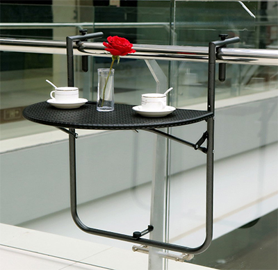 Folding Balcony Table - Father's Day Gift Ideas