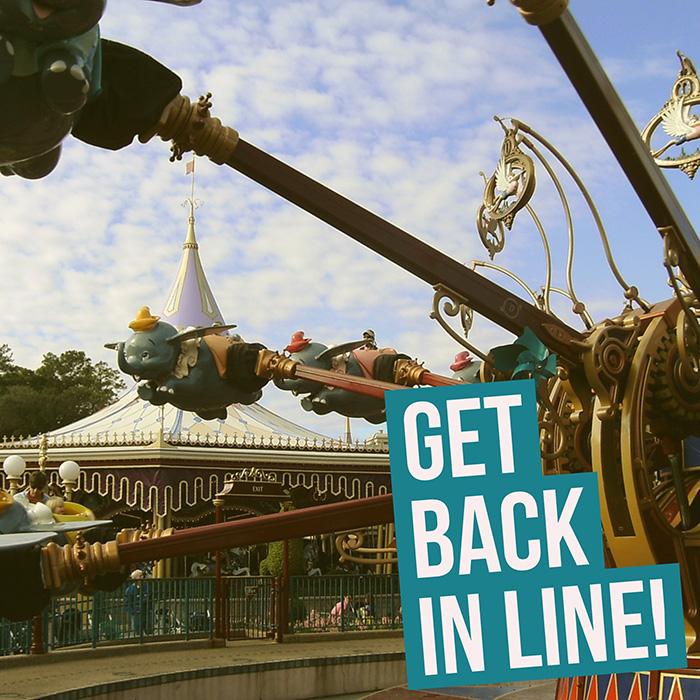 Get Back In Line