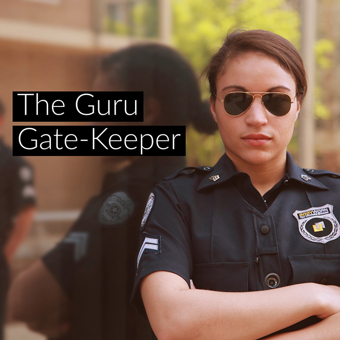 Apple Store Guru Gate-keeper