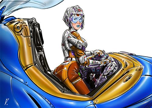 Vince Rodriguez - Comic Book Artist